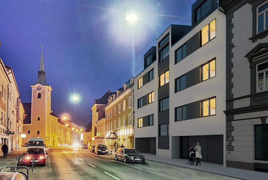 Nacht - Völkermarkter Strasse, Klagenfurt