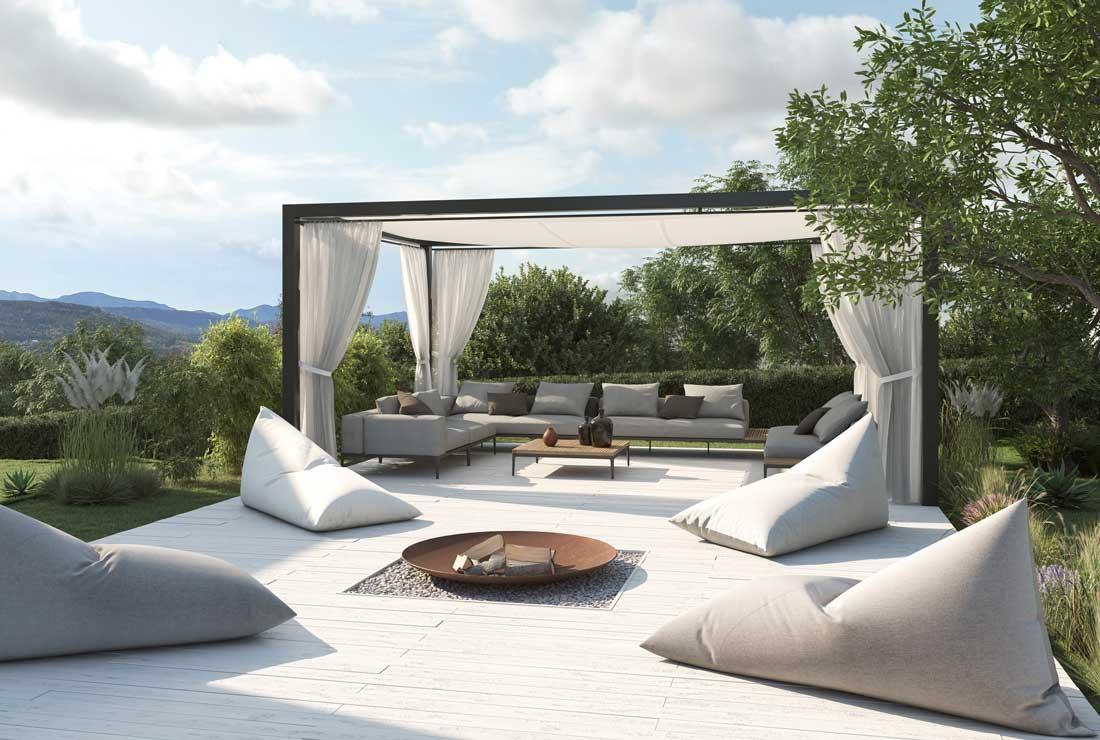 Sonnenlounge Aussen Lounge